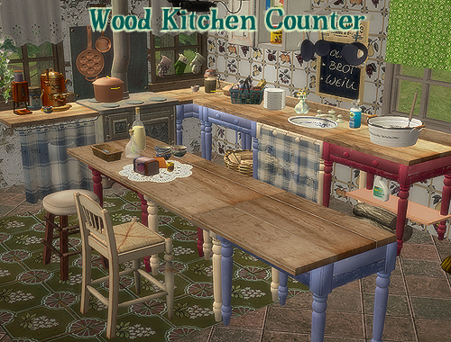 Finds from the graveyard bestbuilditems4sims2 for Sims 2 kitchen ideas