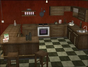 PixelDolly_Ghanima_Decayed_Kitchen_WoodOnly