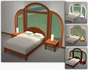 PixelSims_CurvedBedroomSet