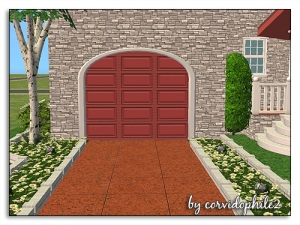 SironaSimscorvi_arched-elegance-garagedoor