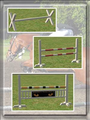 pferdeparcoursset